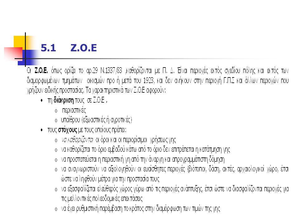 5.1 Ζ.Ο.Ε