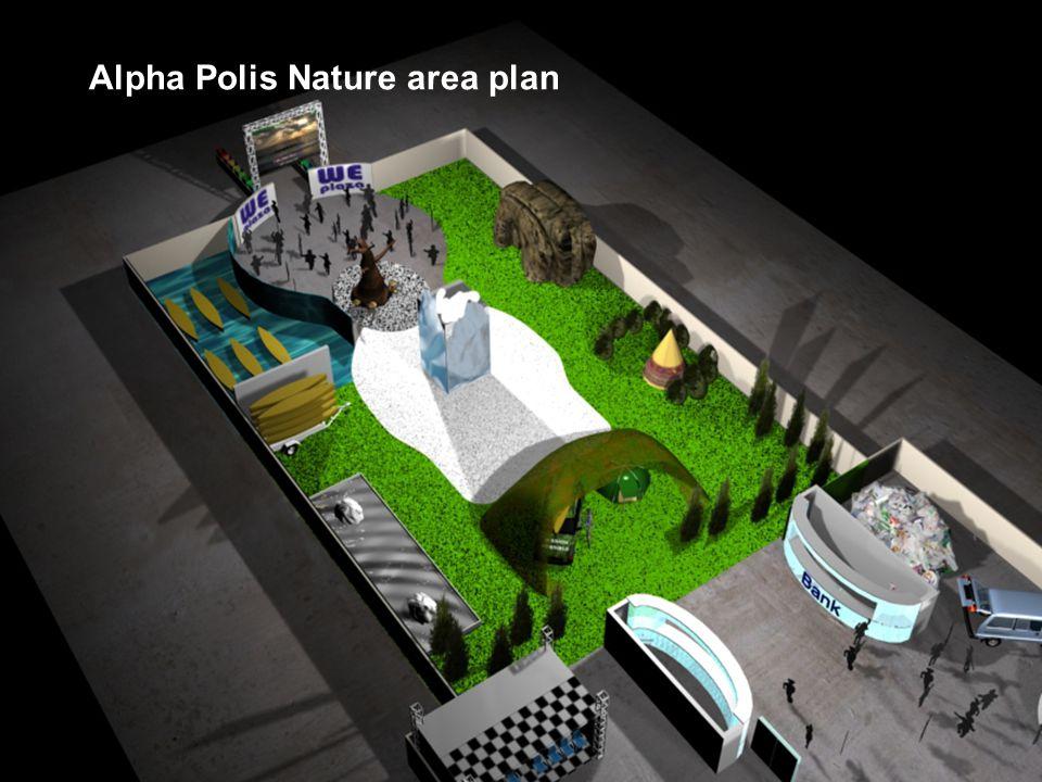 Alpha Polis Nature area plan