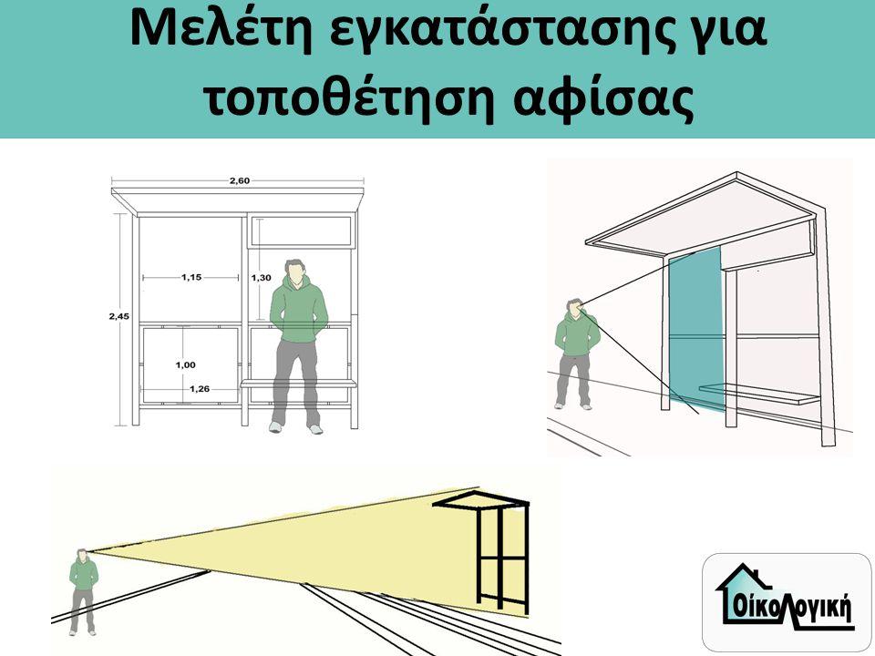 Μελέτη εγκατάστασης για τοποθέτηση αφίσας