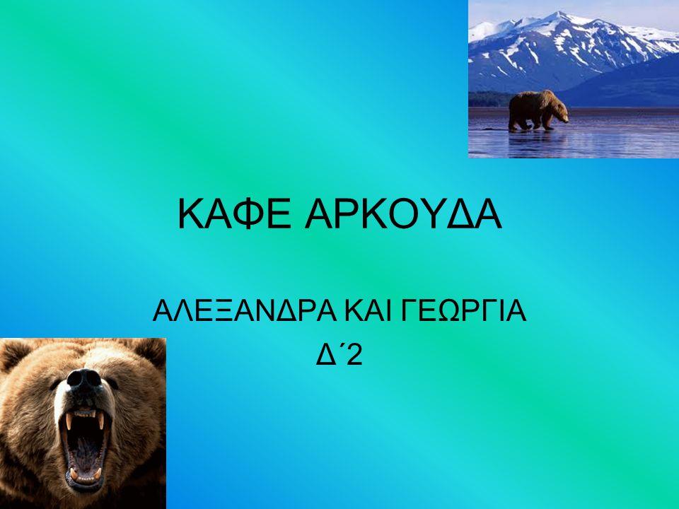 ΚΑΦΕ ΑΡΚΟΥΔΑ ΑΛΕΞΑΝΔΡΑ ΚΑΙ ΓΕΩΡΓΙΑ Δ΄2