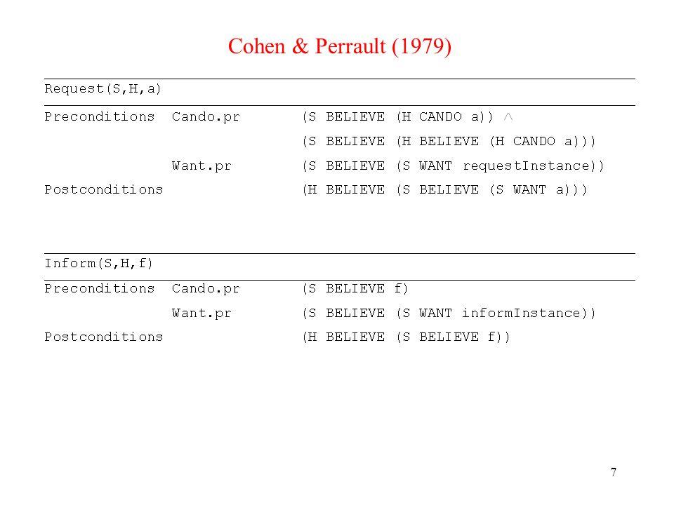 7 Cohen & Perrault (1979)