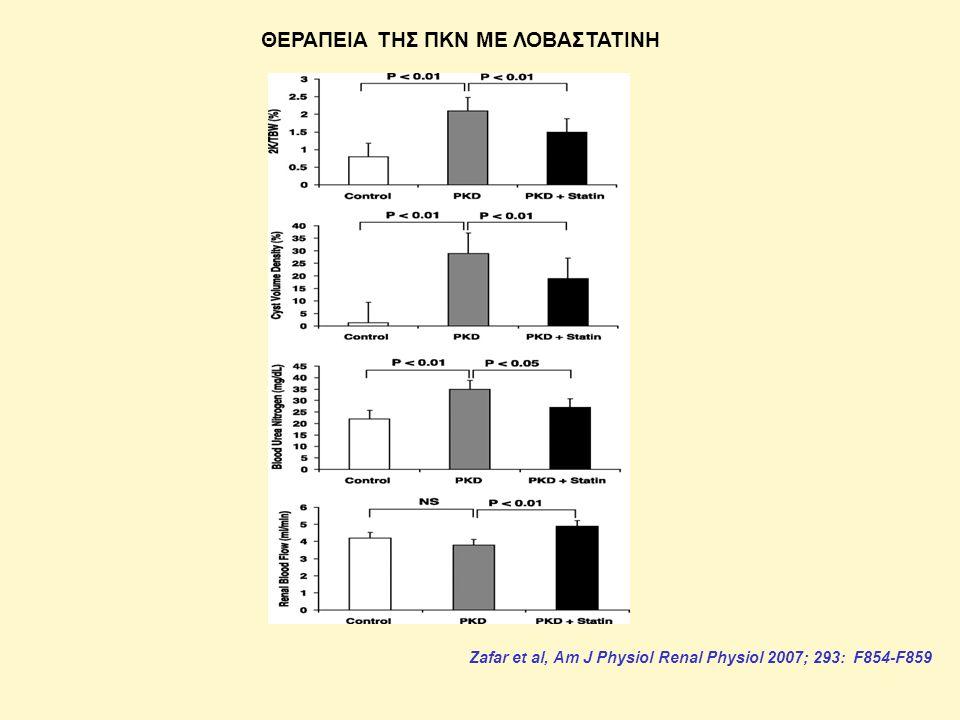 ΘΕΡΑΠΕΙΑ ΤΗΣ ΠΚΝ ΜΕ ΛΟΒΑΣΤΑΤΙΝΗ Zafar et al, Am J Physiol Renal Physiol 2007; 293: F854-F859