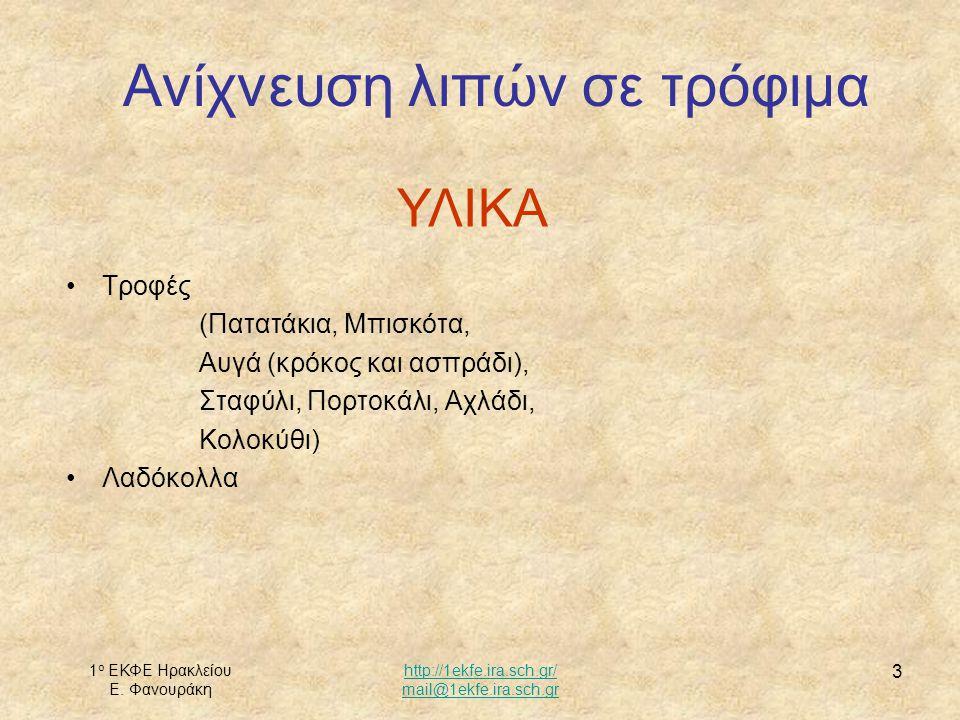 1 ο ΕΚΦΕ Ηρακλείου Ε. Φανουράκη http://1ekfe.ira.sch.gr/ mail@1ekfe.ira.sch.gr 4