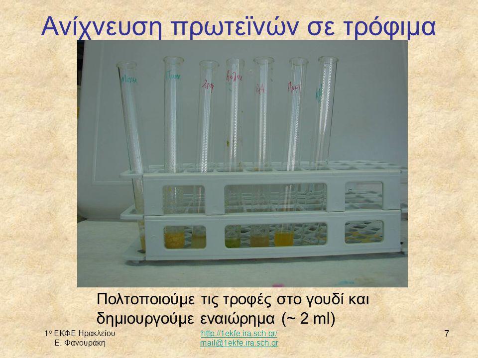 1 ο ΕΚΦΕ Ηρακλείου Ε. Φανουράκη http://1ekfe.ira.sch.gr/ mail@1ekfe.ira.sch.gr 8 Προσθέτουμε ΝαΟΗ