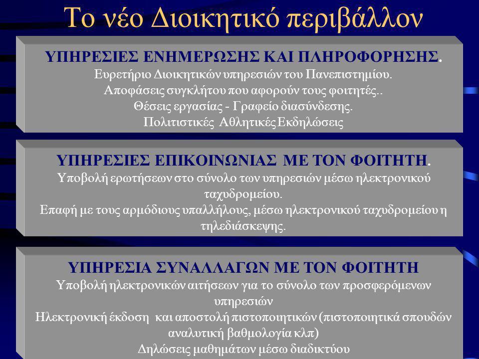 Παναγιώτης Αναστασιάδης Τμήμα Πληροφορικής Πανεπιστημίου Κύπρου 11 Το εικονικό μαθησιακό περιβάλλον Π.χ Το εικονικό πανεπιστήμιο Το νέο Διδακτικό Περι
