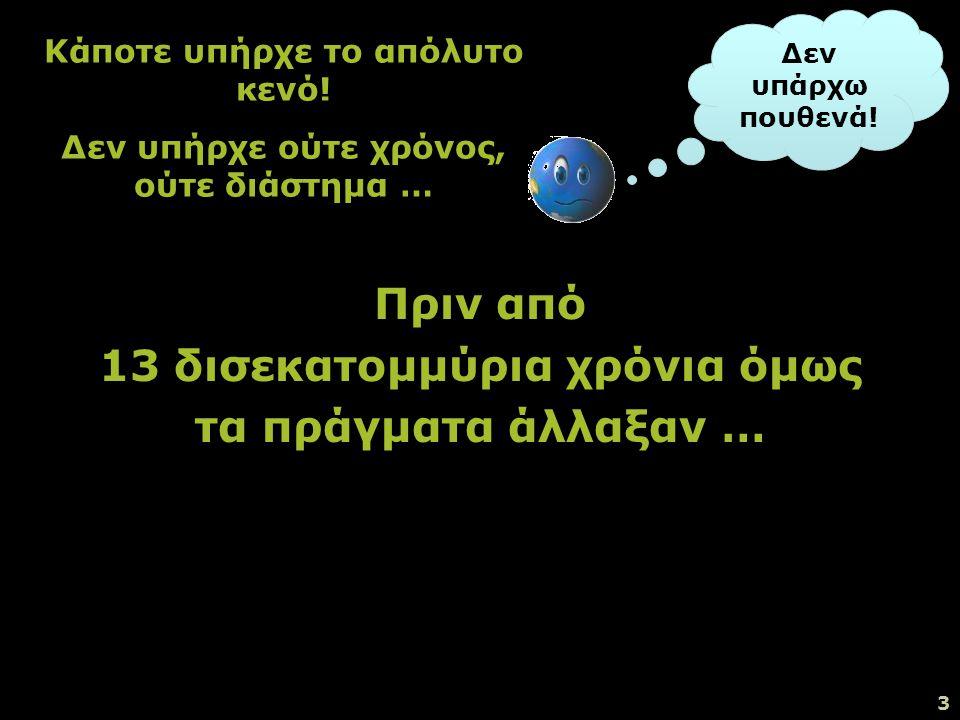 2 Πώς δημιουργήθηκε η Γη; Πώς δημιουργήθηκε το σύμπαν; Πώς και πότε οι άνθρωποι εμφανίστηκαν στη γη; Προβληματισμο ί :