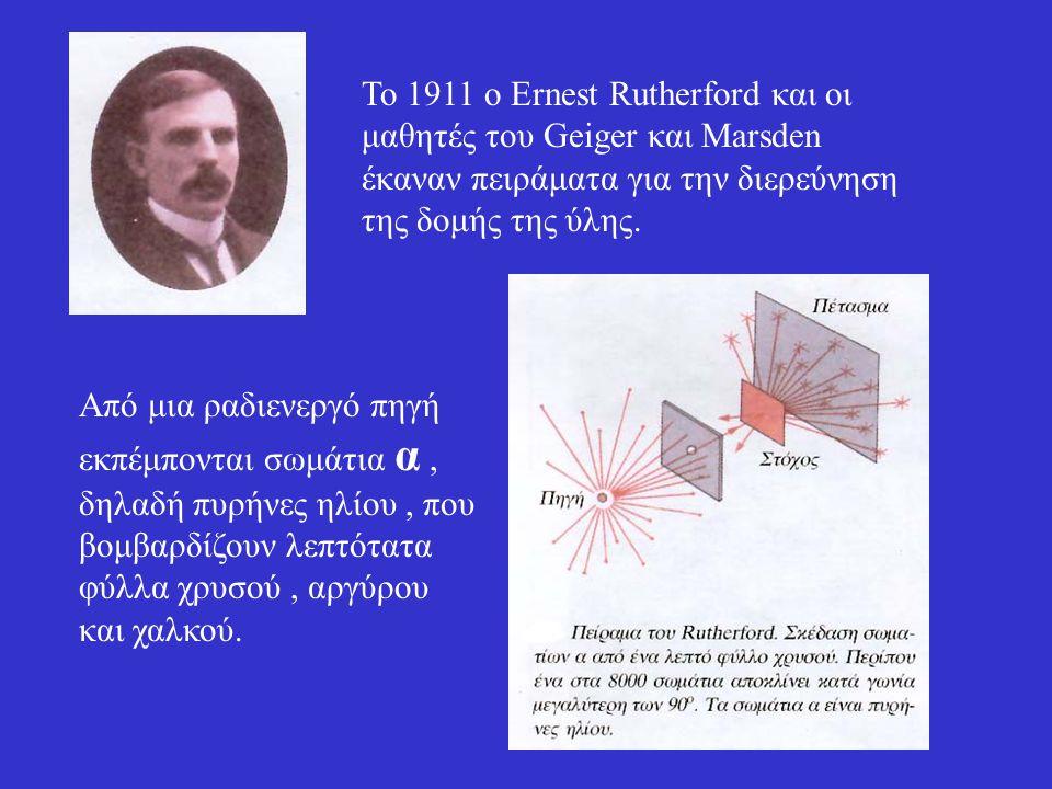 Εφαρμογή από το βιβλίο Ποια είναι η ενέργεια σύνδεσης ; Ποιο είναι το έλλειμμα μάζας του ; Αν η ακτίνα του είναι της τάξης των 2,7 x 10 -15 m πόση είναι η πυκνότητά του ;