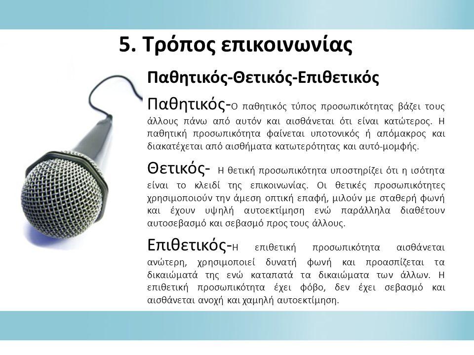 6.4.1β Δημόσια επικοινωνία – εκστρατεία επικοινωνίας 4.