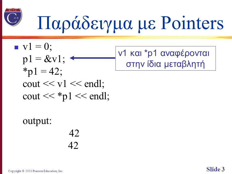 Copyright © 2003 Pearson Education, Inc. Slide 24 Display 12.4 Back Next