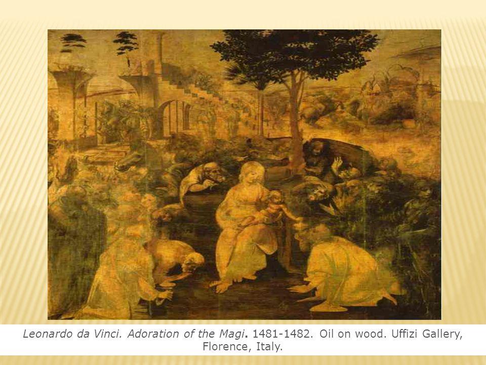 Η Παρθένος και ο μικρός Ιησούς με την Αγία Άννα, Λεονάρντο Ντα Βίντσι
