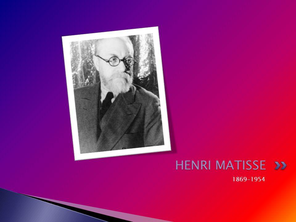 1869-1954 HENRI MATISSE