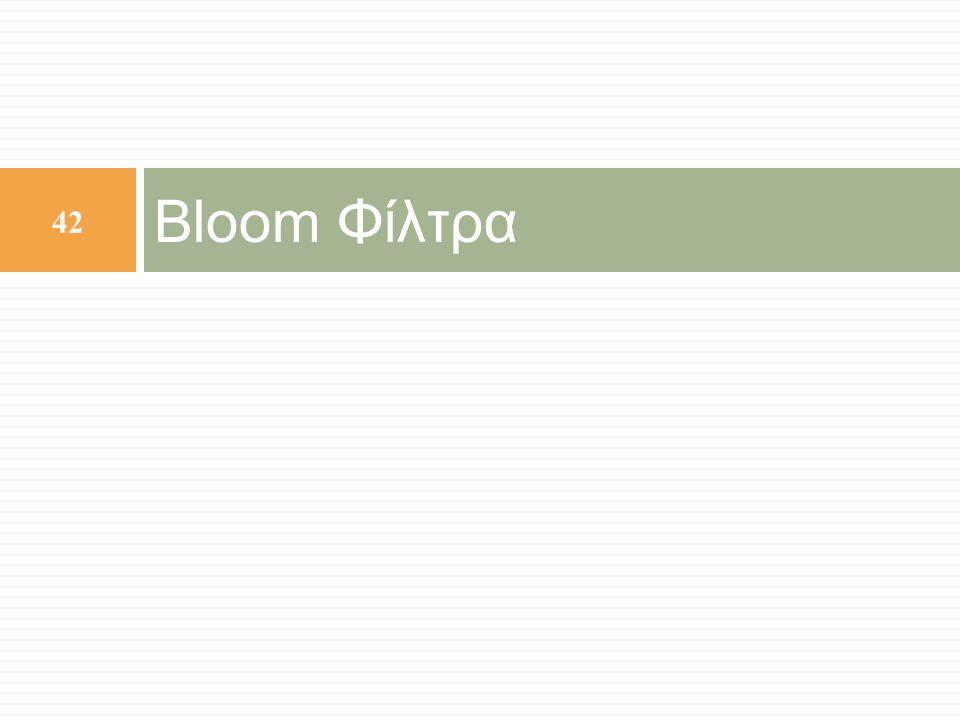 Bloom Φίλτρα 42