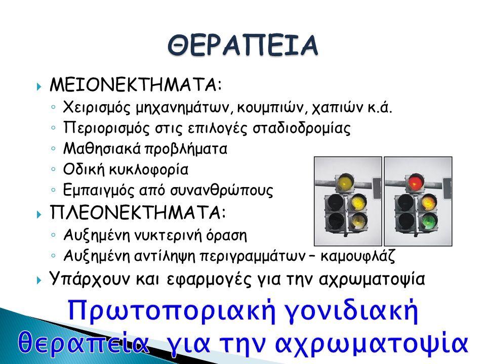  ΜΕΙΟΝΕΚΤΗΜΑΤΑ: ◦ Χειρισμός μηχανημάτων, κουμπιών, χαπιών κ.ά.