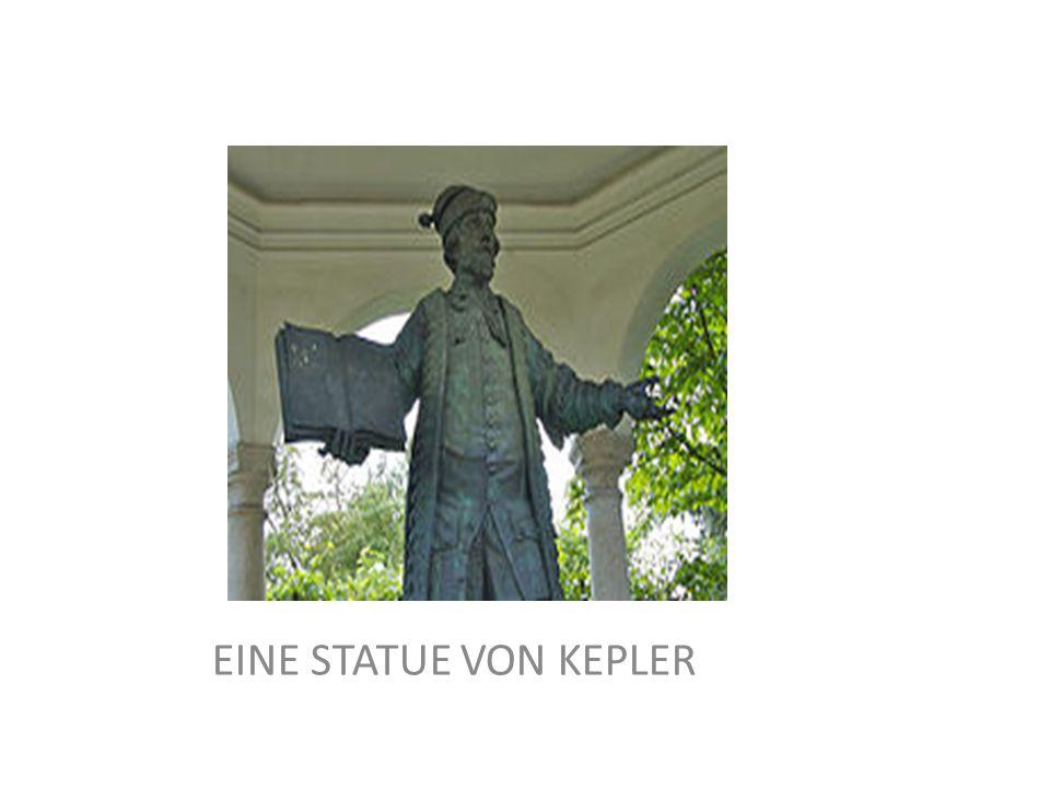 EINE STATUE VON KEPLER