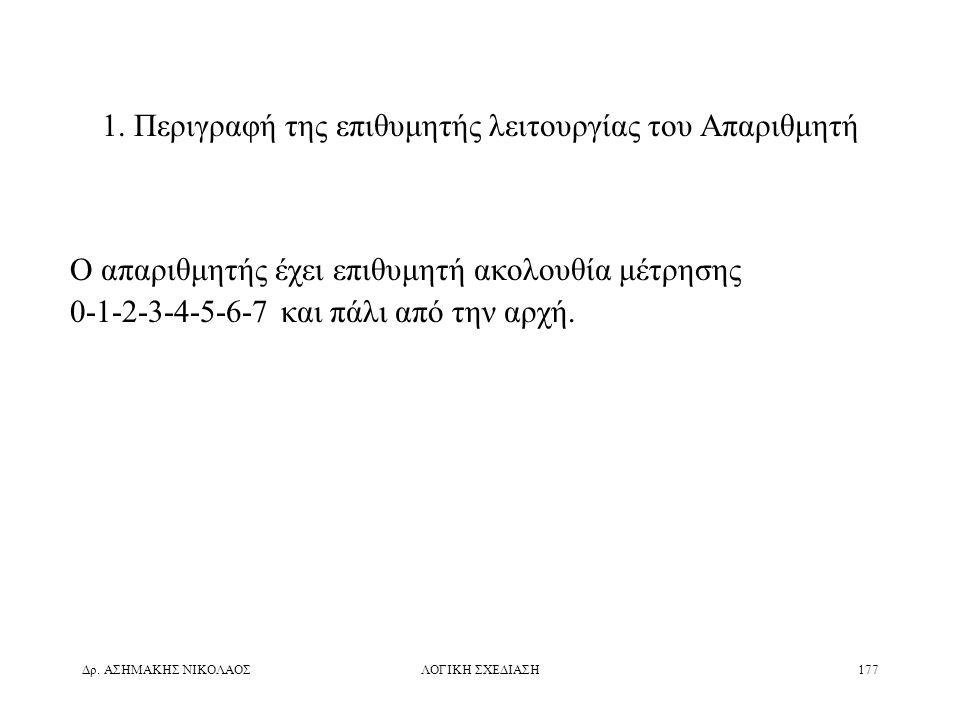 Δρ.ΑΣΗΜΑΚΗΣ ΝΙΚΟΛΑΟΣΛΟΓΙΚΗ ΣΧΕΔΙΑΣΗ177 1.