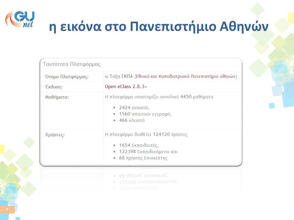 9 η εικόνα στο Πανεπιστήμιο Αθηνών