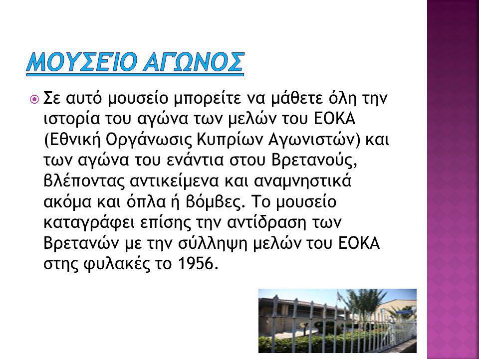  Το Μουσείο Τεχνών Λουκίας και Μιχαλάκη Ζαμπέλα είναι πρωτοπόρο στο χώρο του, και παρουσιάζει μοντέρνα και σύγχρονη τέχνη στην Κύπρο.