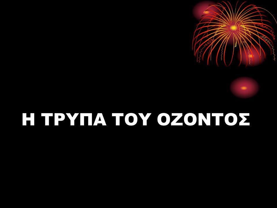 Η ΤΡΥΠΑ ΤΟΥ ΟΖΟΝΤΟΣ
