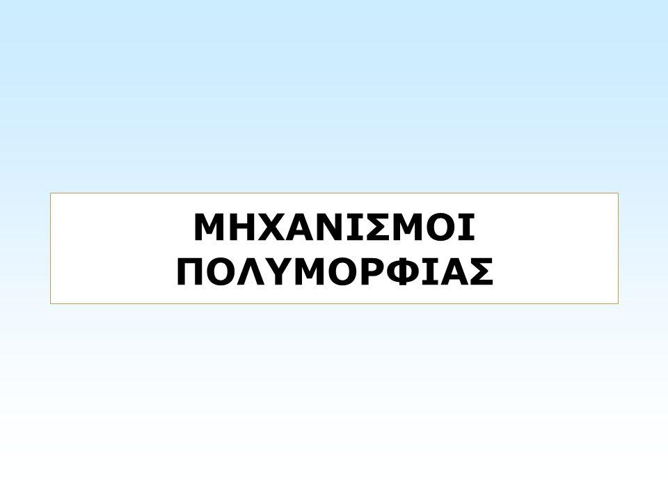 ΜΗΧΑΝΙΣΜΟΙ ΠΟΛΥΜΟΡΦΙΑΣ