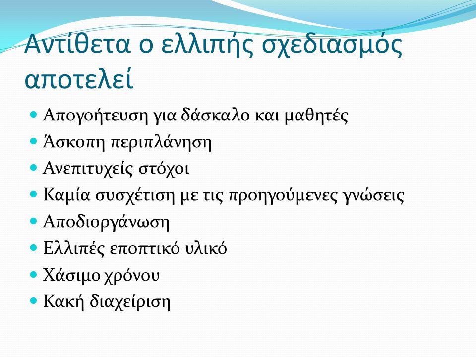 Εκπαιδευτικές δραστηριότητες (educational activities)