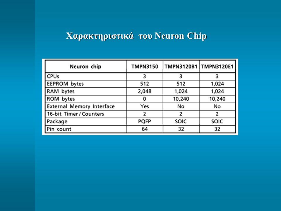 Χαρακτηριστικά του Neuron Chip