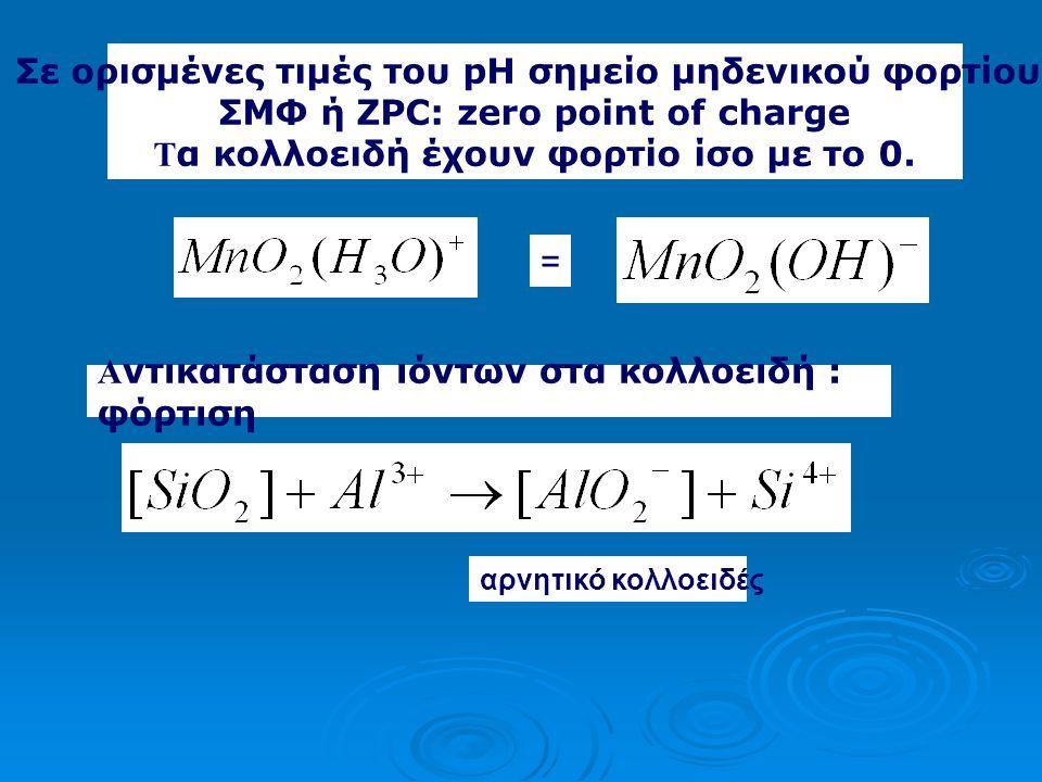 = Αριθμός φορτίων του. Η2ΟΗ2Ο +Η + -Η + + + + + + +