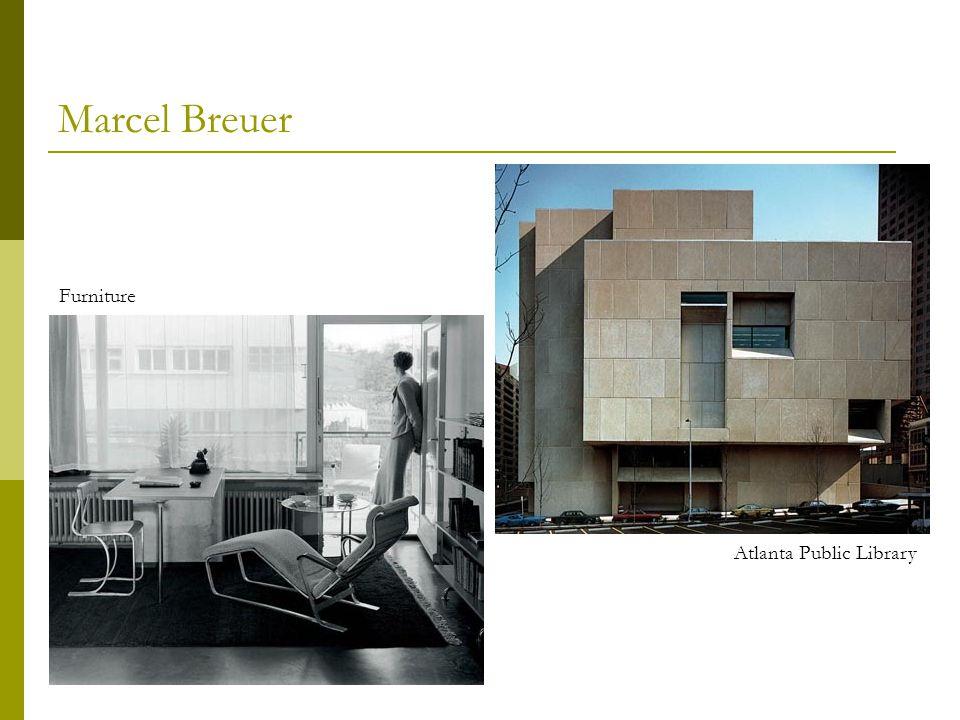 Marcel Breuer Atlanta Public Library Furniture