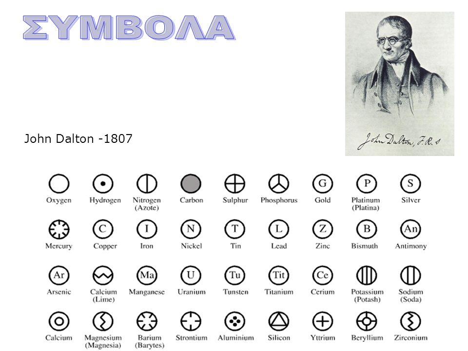 John Dalton -1807