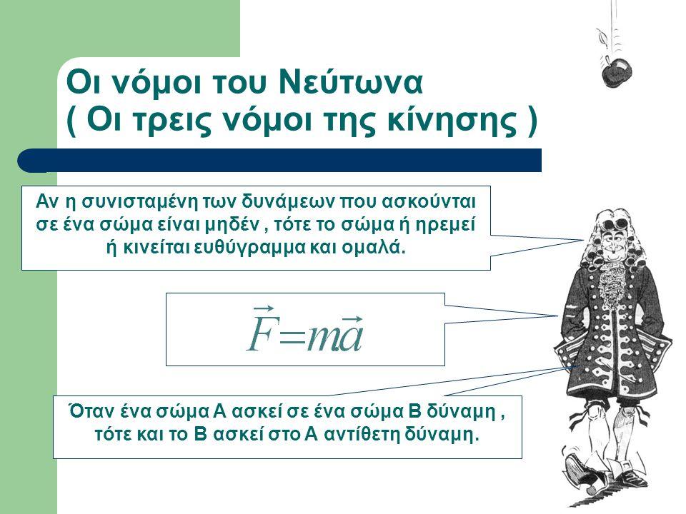 Ισαάκ Νεύτων Το 1687 κυκλοφόρησε σε 250 αντίτυπα το περίφημο έργο του « Μαθηματικές αρχές της Φυσικής Φιλοσοφίας », το σημαντικότερο βιβλίο Φυσικής πο