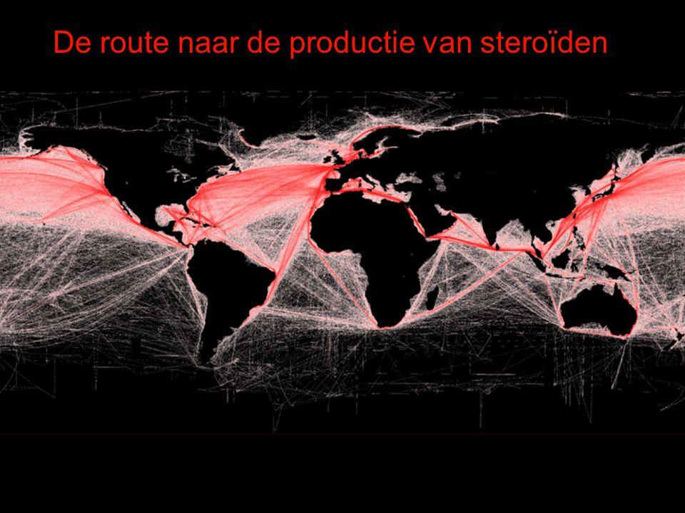 De route naar de productie van steroïden