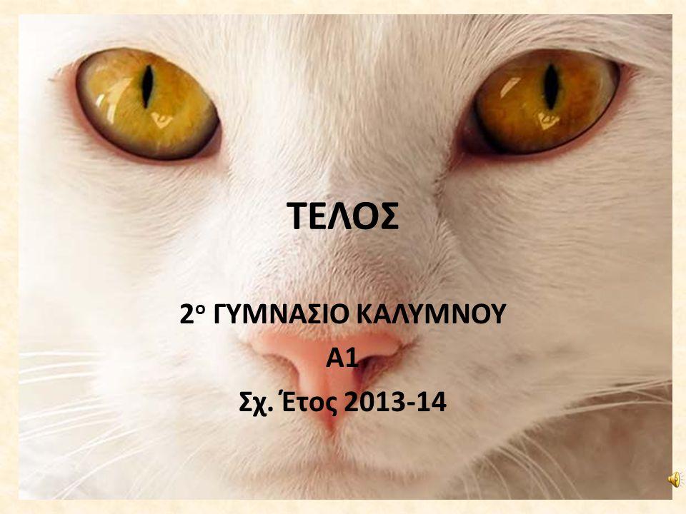 ΤΕΛΟΣ 2 ο ΓΥΜΝΑΣΙΟ ΚΑΛΥΜΝΟΥ Α1 Σχ. Έτος 2013-14