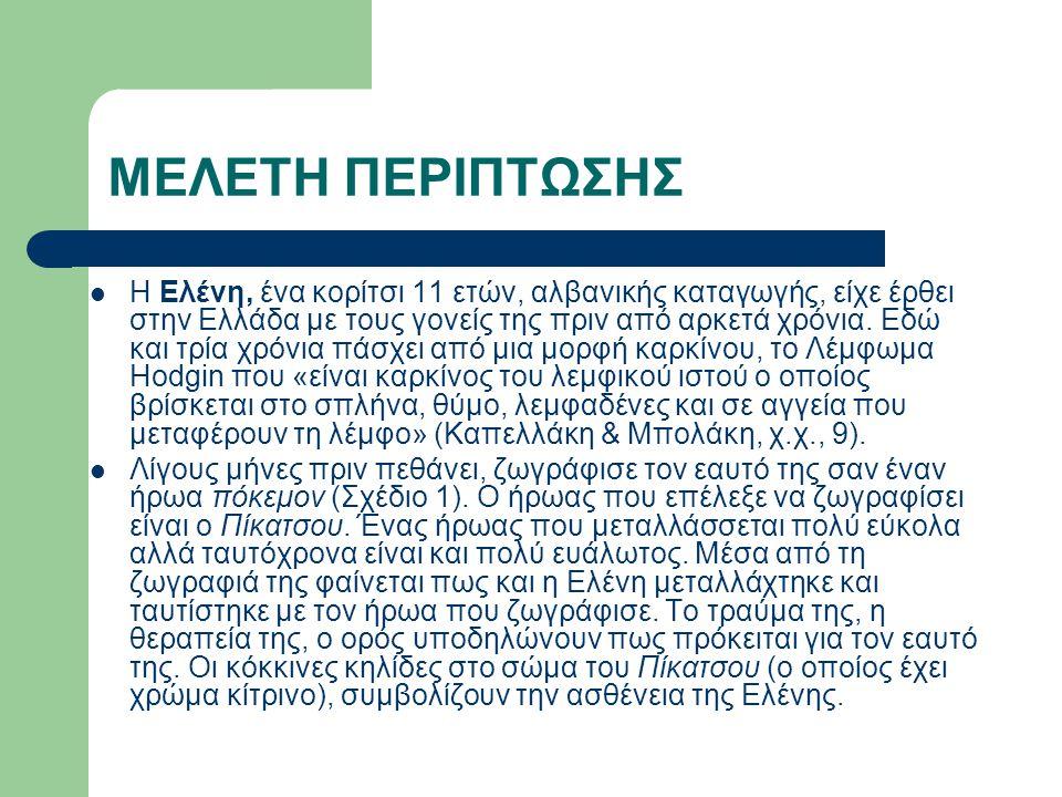 ΜΕΛΕΤΗ ΠΕΡΙΠΤΩΣΗΣ Η Ελένη, ένα κορίτσι 11 ετών, αλβανικής καταγωγής, είχε έρθει στην Ελλάδα με τους γονείς της πριν από αρκετά χρόνια. Εδώ και τρία χρ