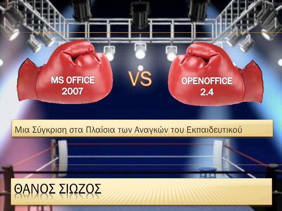 ΜΕΤΑΦΡΑΣΕΙΣ Word 2007
