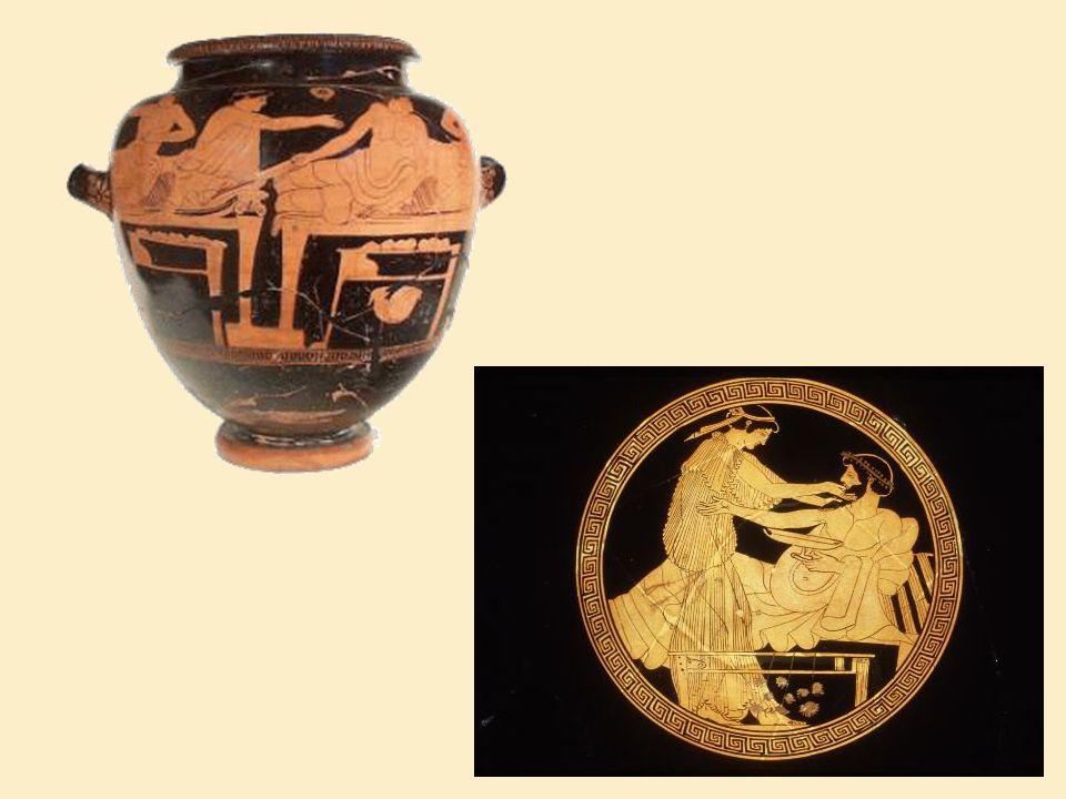Η διατροφή των Αθηναίων ήταν λιτή.