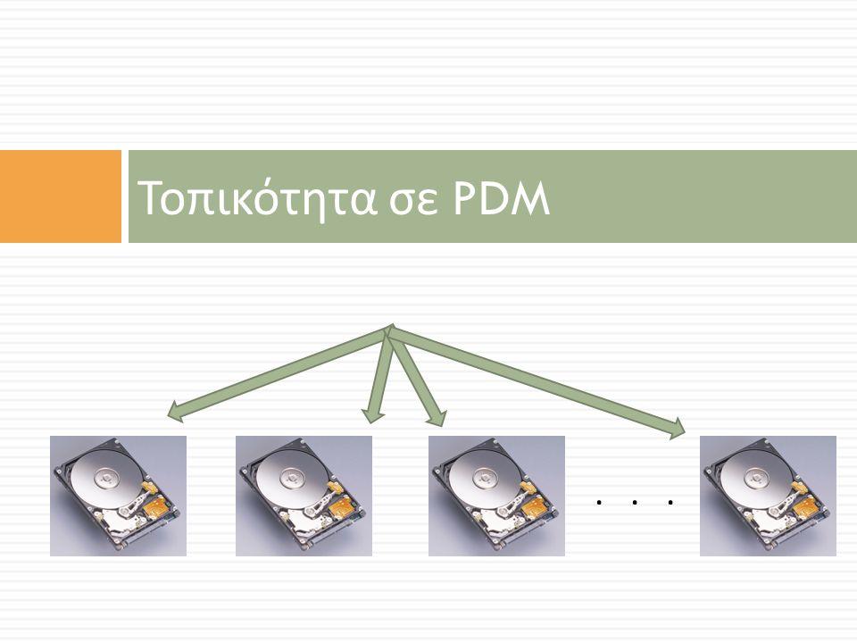 Τοπικότητα σε PDM...