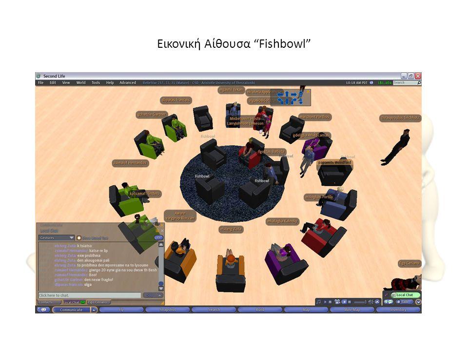 """Εικονική Αίθουσα """"Fishbowl"""""""