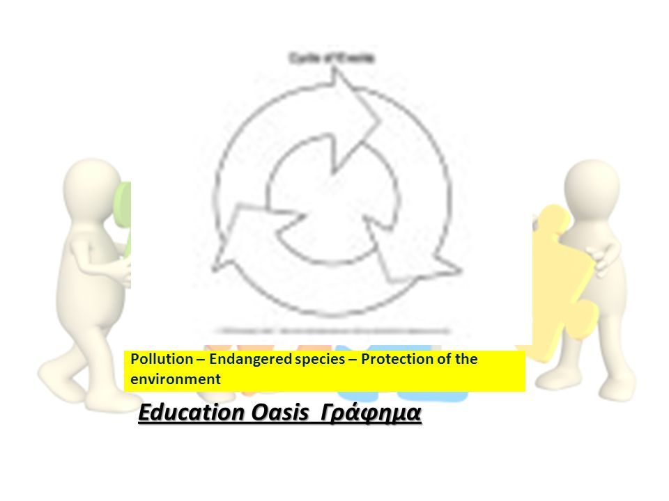 Pollution – Endangered species – Protection of the environment Education Oasis Γράφημα