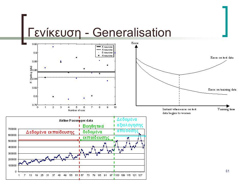 61 Γενίκευση - Generalisation