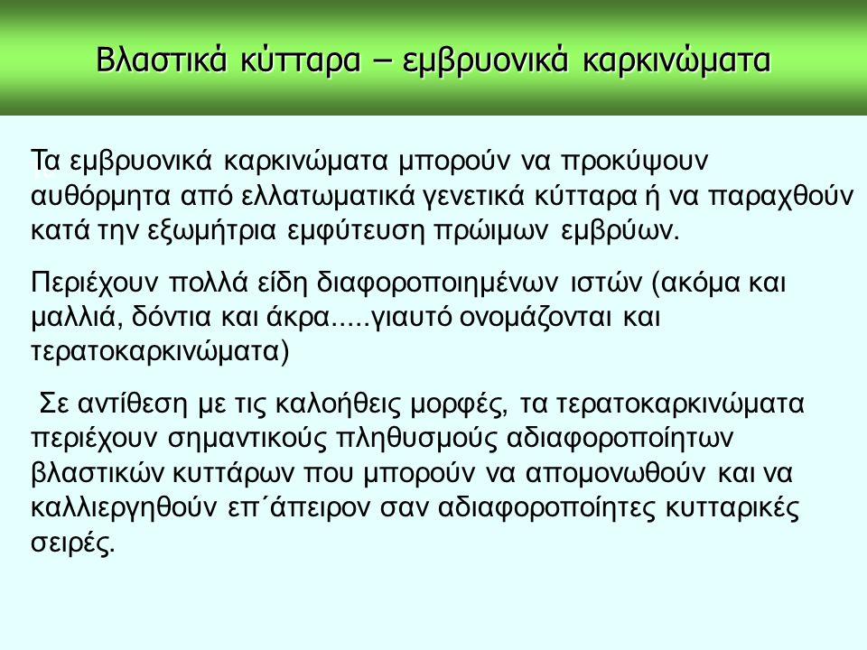 ΠΡΩΤΟΓΕΝΕΙΣ ΚΑΛΛΙΕΡΓΕΙΕΣ ΝΕΥΡΩΝΩΝ ΥΠΟΘΑΛΑΜΟΥ