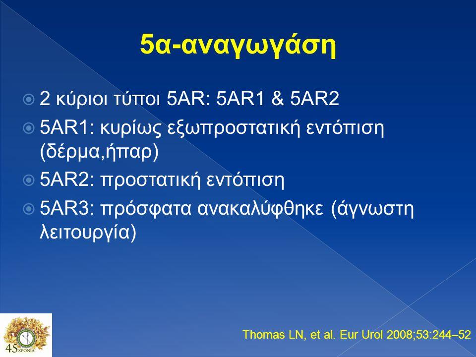 Testosterone DHT 5AR
