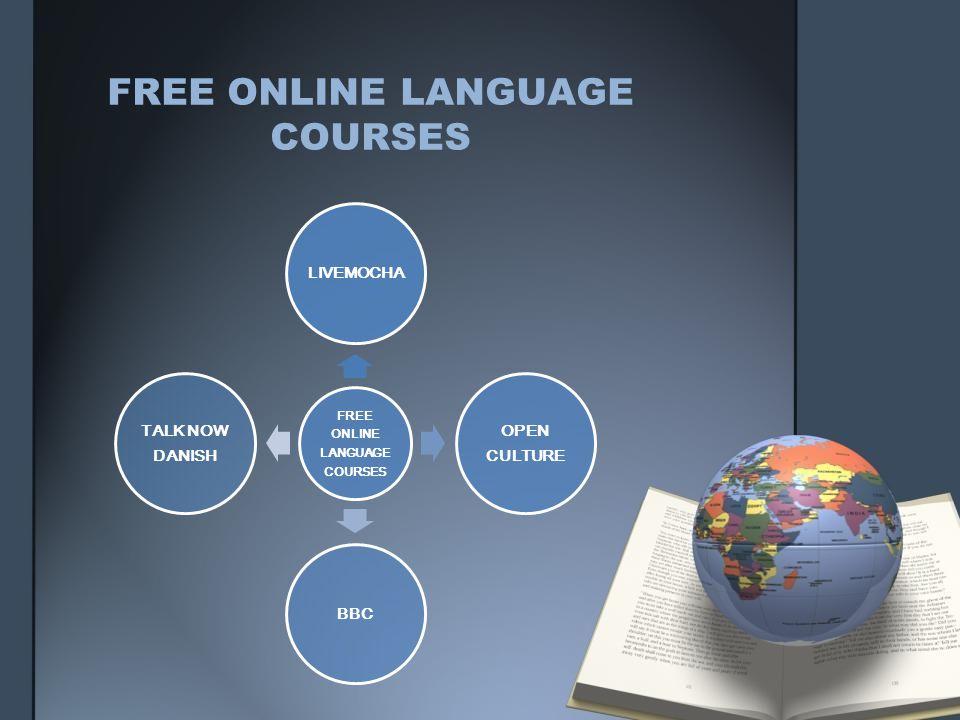 FREE ONLINE LANGUAGE COURSES LIVEMOCHA OPEN CULTURE BBC TALK NOW DANISH