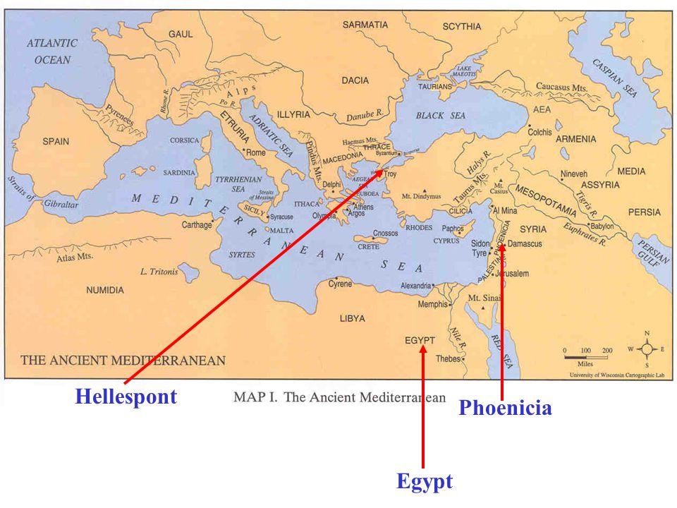 Egypt Hellespont Phoenicia