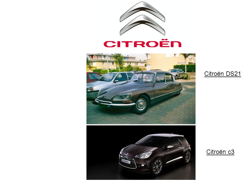 Citroën DS Citroën DS21 Citroën c3