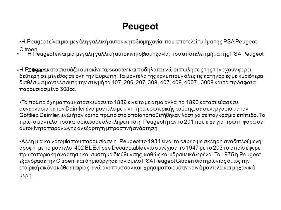Peugeot 403 Peugeot crz