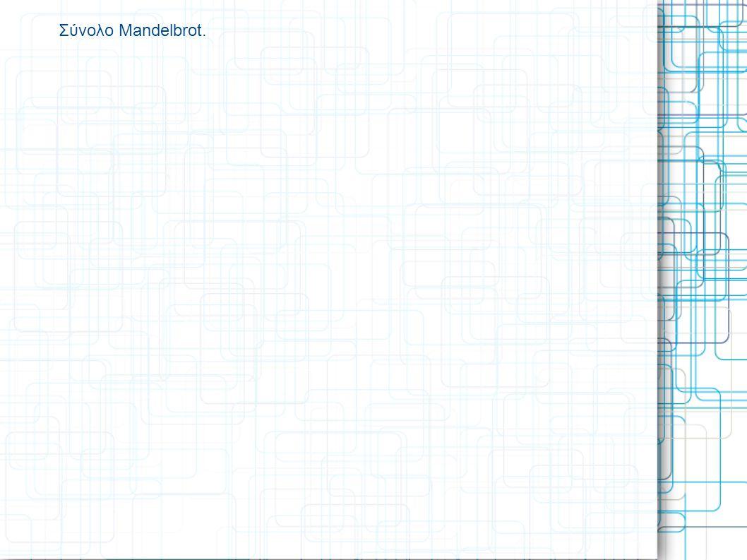 Σύνολο Mandelbrot.