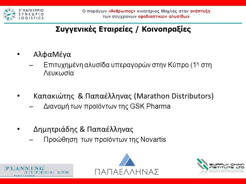 Ο παράγων «Άνθρωπος» κινητήριος Μοχλός στην ανάπτυξη των σύγχρονων εφοδιαστικών αλυσίδων ΑλφαΜέγα –Επιτυχημένη αλυσίδα υπεραγορών στην Κύπρο (1 η στη