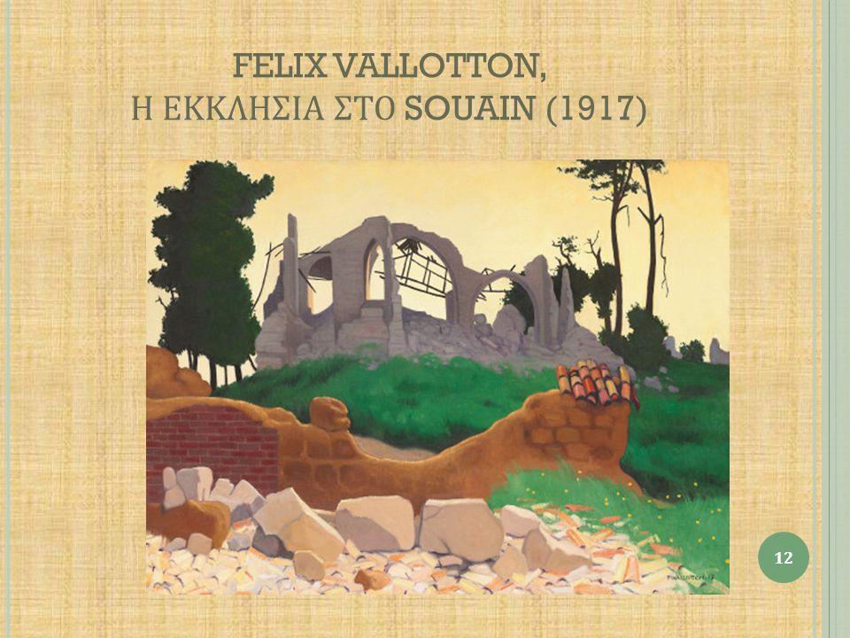FELIX VALLOTTON, Η ΕΚΚΛΗΣΙΑ ΣΤΟ SOUAIN (1917) 12