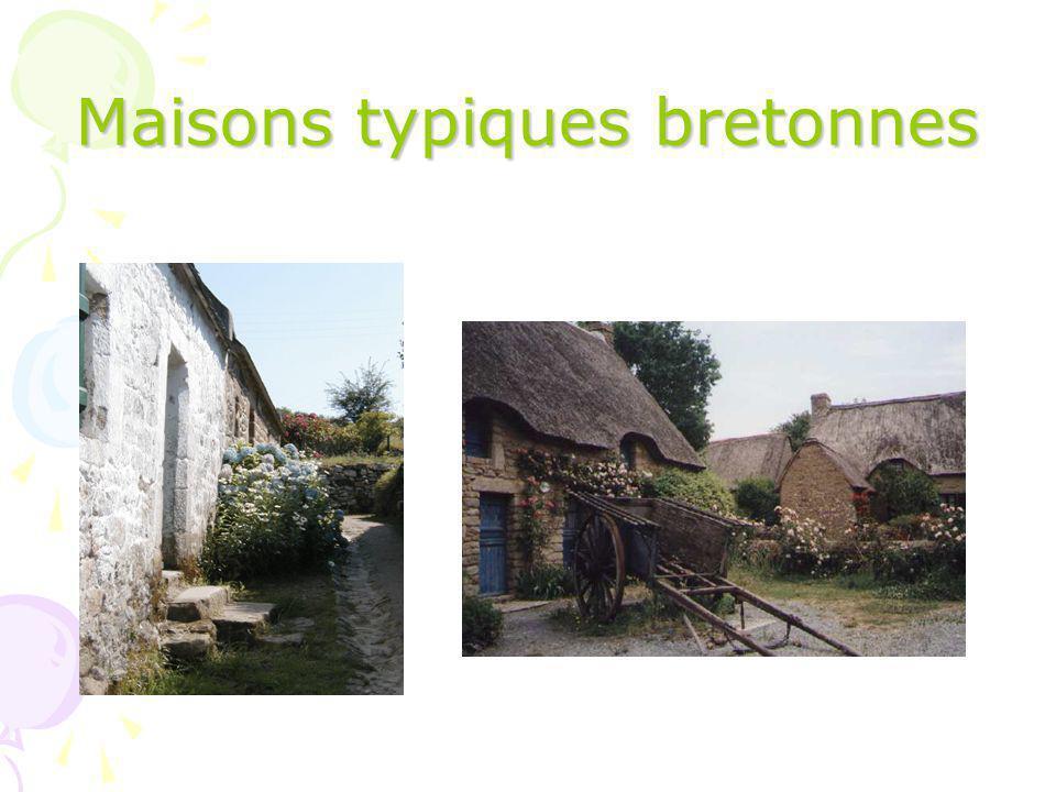 Maisons typiques bretonnes