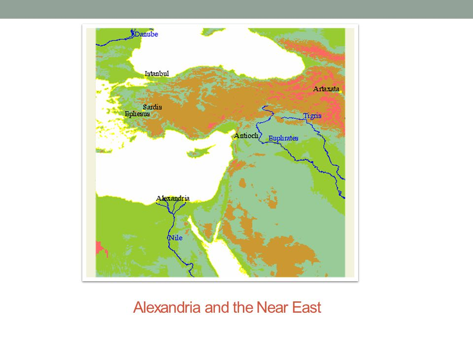 Alexandria and the Near East