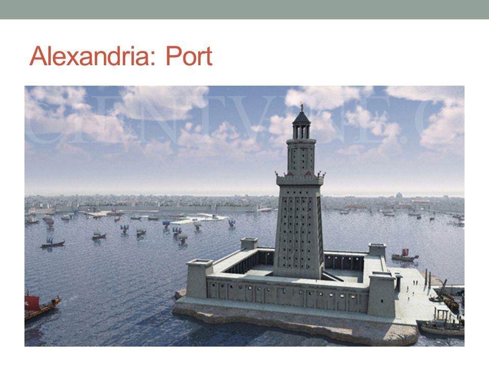 Alexandria: Port